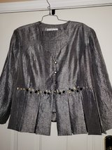 Gray 2 pc. suit w/ Rhinestones/ Lace in Fort Campbell, Kentucky
