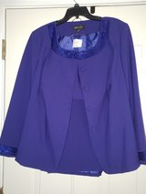 Royal Blue Suit w/Sequins in Fort Campbell, Kentucky