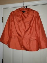 Orange 2 pcs Suit w/ gems/stones in Fort Campbell, Kentucky
