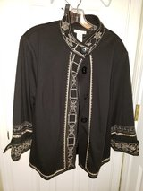 Black /Cream Jacket in Fort Campbell, Kentucky