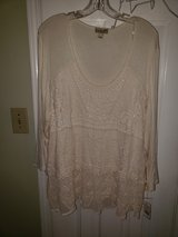 Embroigery Cream Blouse in Fort Campbell, Kentucky