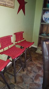 4 Wicker Stools in Lawton, Oklahoma