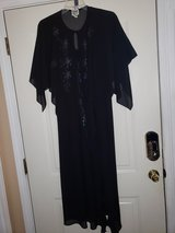 Black Sequins Gown/ jacket in Fort Campbell, Kentucky