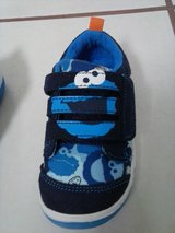 Stride Rite Cookie Monster little boys shoes 6M NEW IN BOX in Conroe, Texas