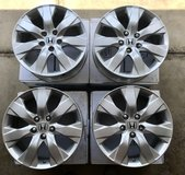 "17"" Orginal Honda factory alloy rims in Schaumburg, Illinois"