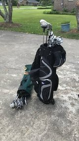 2 sets of golf clubs& bags left handed in Warner Robins, Georgia
