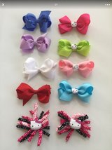 NEW LOT of 10 Girls Hair RIBBON Bows in Westmont, Illinois