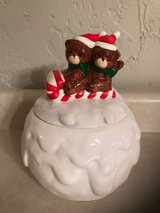 Snowball and Bears on Sleigh Cookie jar in Lockport, Illinois