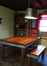 Table and 1 bench in Lawton, Oklahoma