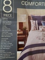 King 8 piece Comforter Set in San Antonio, Texas