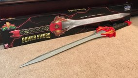 Power ranger legacy red ranger sword in Macon, Georgia