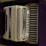 Accordion made in Italy in Livingston, Texas