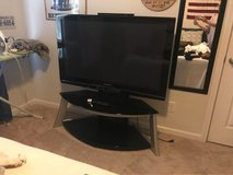 "48"" Panasonic TV with glass stand in Beaufort, South Carolina"