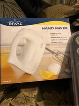 New Rival hand mixer have 3 in Kirtland AFB, New Mexico