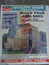 Yard Shed (DIY) Building Kit By Simpson Strong Tie. New in box in The Woodlands, Texas