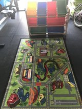 Toy organizer and rug in Ramstein, Germany