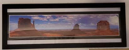 REDUCED Framed Poster Monument Valley in 29 Palms, California