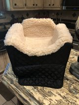 Dog bed for the car with compartment, for a small dog in Kingwood, Texas