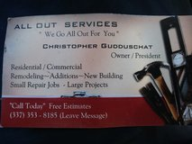 All Out Construction in Lake Charles, Louisiana