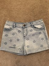 Girls size 8 Jean shorts in Fort Benning, Georgia