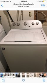 Whirlpool Washer & Dryer 1 yr old in Fort Meade, Maryland