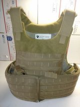 Survival Armor Plate Carrier with level III soft armor and level III/IV Hard plate armor size small in Oceanside, California