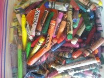 Bag of broken crayons in Naperville, Illinois