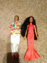 Sonny and cher 1970 dolls in Oswego, Illinois
