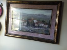 Landscape framed piece in Fort Riley, Kansas