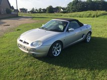 MGF 1.8 VVC in Lakenheath, UK