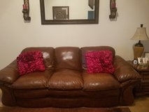 Leather Couch and Love Seat in Clarksville, Tennessee