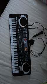 Keyboard with microphone in Ramstein, Germany