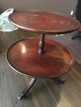 Antique circular side table in Clarksville, Tennessee