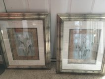 Framed art picture pair in Clarksville, Tennessee