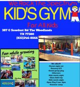"Kids Gym""WE ROCK THE SPECTRUM KIDS GYM"" in Tomball, Texas"