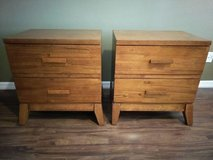 Two Nightstands - Solid Wood - Great Condition in Kissimmee, Florida