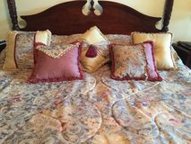 *Reduced Again* - Comforter Set- King- 11 pieces! in Houston, Texas