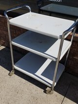 Rolling Metal Kitchen Cart in Fort Leonard Wood, Missouri