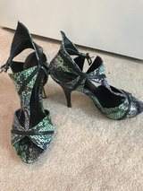 Turquoise Green heels in Alamogordo, New Mexico