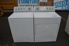 Whirlpool Washer & Dryer with warranty in Tacoma, Washington