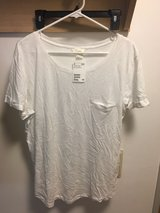 NEW with tags H&M Shirt (White) in Ramstein, Germany