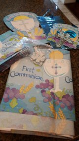 First communion party supplies in Kingwood, Texas