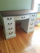 Vintage desk in Plainfield, Illinois