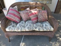 Wicker Patio couch in Travis AFB, California