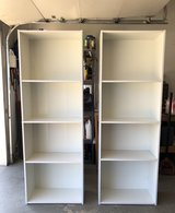 WHITE BOOKCASES in Fort Leonard Wood, Missouri
