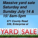 CHEAP CHEAP YARD SALE MUST GO in Fort Rucker, Alabama
