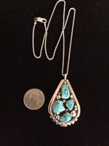 Sterling Silver & Turquoise Zuni Necklace in Cleveland, Texas