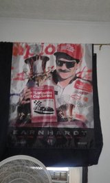 Dale Earnhardt SR Winston cup banner in Wilmington, North Carolina