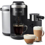 Keurig K-Cafe Single-Serve K-Cup Coffee Maker + Milk Frother, Dark Charcoal in Lancaster, Pennsylvania