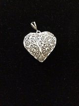 Sterling Silver Heart Pendant in Cleveland, Texas